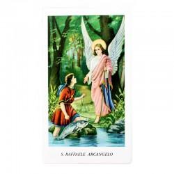 Immagine San Raffaele Arcangelo 6x11 cm pz 100