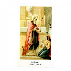 Immagine San Donato-A con preghiera 6x11 cm pz 100