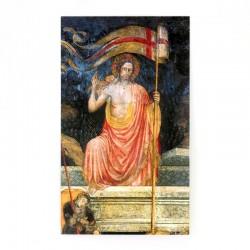 Immagine Cristo Risorto con Benedizione famiglia 7x12 cm 100 pz