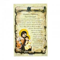 Prayer card - Saint Joseph 10x15 cm 100 pcs