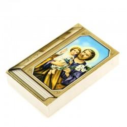 Book image with Saint Joseph 7x11,5 cm 100 units