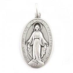 Medaglia Miracolosa argento 925°° 2,1x3,3 cm