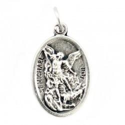 Medaglia San Michele Arcangelo Ovunque Proteggimi 1,5x2,2 cm