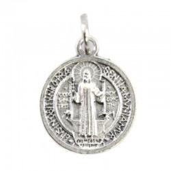Medaglia San Benedetto Ovunque Proteggimi Diametro 1,7 cm