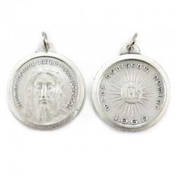 Medaglia Sacra Sindone in metallo Diametro 2,5 cm