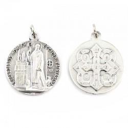 Medaglia San Benedetto in metallo Diametro 2,5 cm