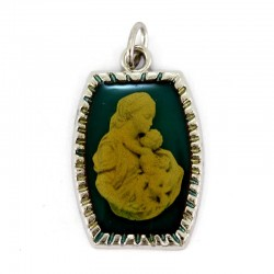 Medal Madonna with Child 2x2,7 cm