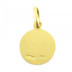 Miraculous Madonna medal 925 silver Diameter 1 cm