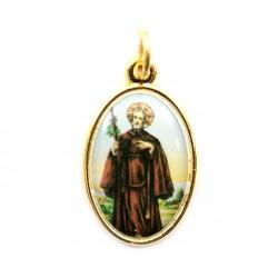 Medaglia San Ciro in metallo 2,2x1,5 cm
