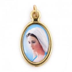 Medaglia Madonna di Medjugorje 1,5x2 cm