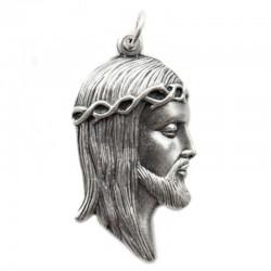 Medaglia Ecce Homo sagomata 4x2,5 cm