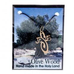 Wooden Pendant Jesus 3x2 cm