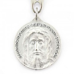 Metal Holy Shroud Keyring 3,5x9,5 cm