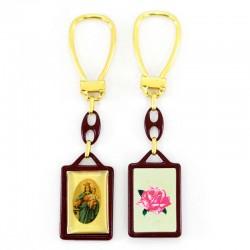 Portachiavi Madonna Maria Ausiliatrice 2,5x11 cm