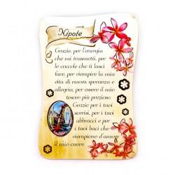 Magnet Parchment to Nephew 5.5x8 cm