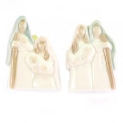Calamita con Sacra Famiglia 4x6 cm