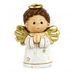 Funny Angel with magnet in colored resin 6 cm