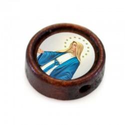 Componente personalizzato in legno per montaggi Diametro 1 cm