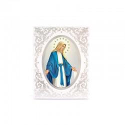 Quadro personalizzato con fregi decorativi 18x24 cm