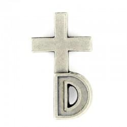 Clergyman Cross for Deacons 1.4x2.5 cm