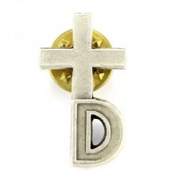 Croce Clergyman per diaconi 1,4x2,5 cm