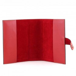 Neocatechumenal bible cover in real leather Christ 14x21x6 cm