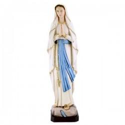 Statua Madonna di Lourdes in resina colorata 60 cm