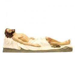 Statua Gesù Morto in Vetroresina dipinta 140 cm