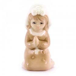 Bomboniera Bimba in preghiera porcellana 8,3 cm