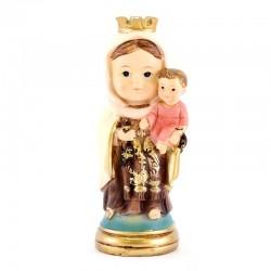 Statua Madonna del Carmine baby 9 cm
