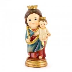 Statua Madonna Ausiliatrice baby 9 cm