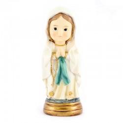 Statua Madonna di Lourdes baby 9 cm