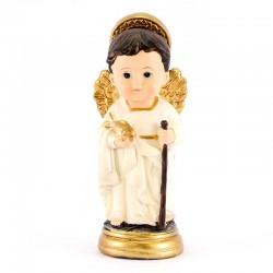 Statua Arcangelo Raffaele baby 9 cm