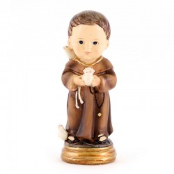 Statua San Francesco baby 9 cm