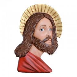 Statua Volto Santo in vetroresina dipinta 50 cm