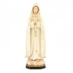 Statua Madonna di Fatima in legno 20 cm