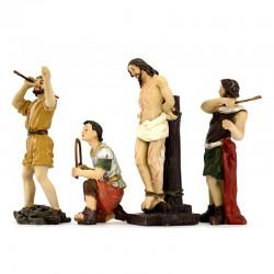 Passion of Christ flagellation scene 9 cm