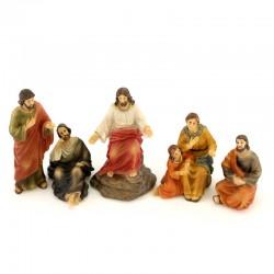 Passion scene Jesus Sermon on the Mount 9 cm