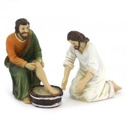 Jesus life scene Foot Washing 9 cm
