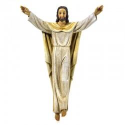 Risen Jesus hanging statue in resin 30.8 cm