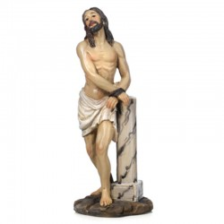 Scene passion of Christ Flagellation 14 cm