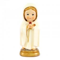 Statua Madonna Rosa Mistica baby 9 cm