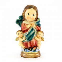 Statua Madonna dei nodi baby 9 cm