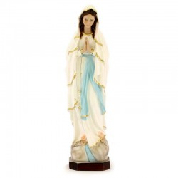 Statue of Our Lady of Lourdes in resin 40 cm