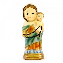 Our Lady of the Rosary baby statue 9 cm