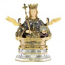 Half bust Saint Agatha resin statue 21.5 cm