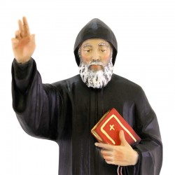 Saint Charbel statue in painted resin 30 cm