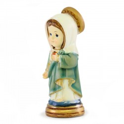 Sacred Heart of Mary baby statue 9 cm