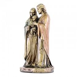 Sacred Family bronze resin statue 9 cm