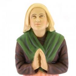 Saint Bernadette resin statue 36 cm
